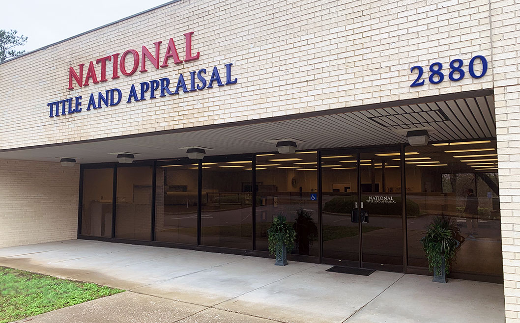 Exterior of National Title & Appraisal building